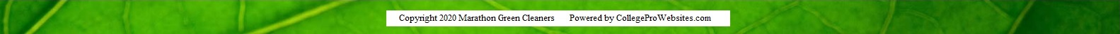 copyright footer green leaf